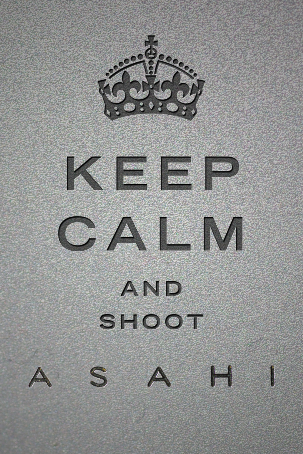 Keep-Calm-and-shoot-asahi